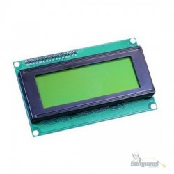 Display Lcd 16x4 1604 Fundo Verde Arduino